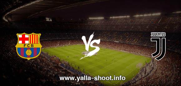 نتيجة مباراة برشلونة ويوفنتوس اليوم الأربعاء 28-10-2020 يلا شوت الجديد في دوري أبطال أوروبا