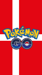 Pokemon GO Wallpaper flag Denmark Android phone and iPhone Free
