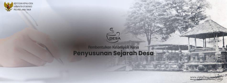 SK Pokja Penyusunan Sejarah Desa