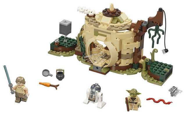 Lego Star Wars - Yoda's Hut (75208)