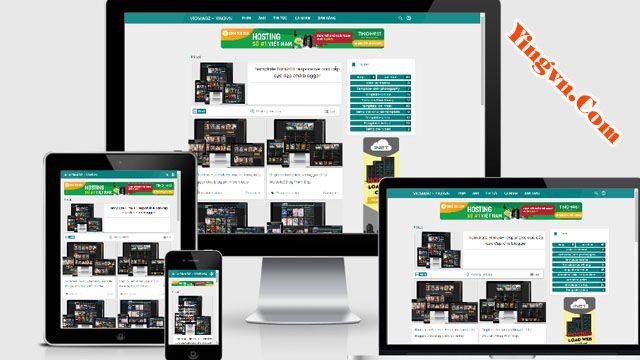 VioMagz Redesign Template Blogge