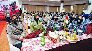 Polwan Polda Jateng Rayakan Syukuran HUT Polwan ke 72