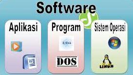 Penjelasan perbedaan software dan aplikasi komputer