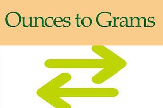 Ounces to Grams