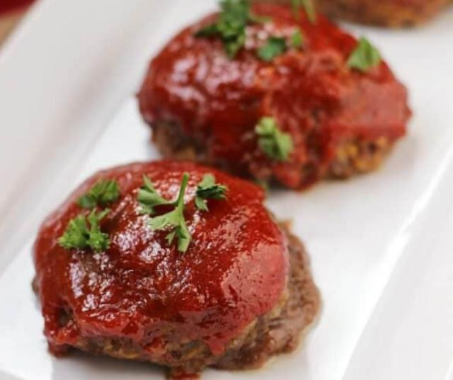 Li'l Cheddar Meat Loaves
