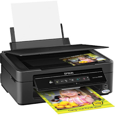 Easy Epson Wireless connect to your wireless network inwards seconds  Epson Stylus SX230 Driver Downloads