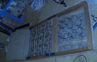 renowacja fotela na sprężynach