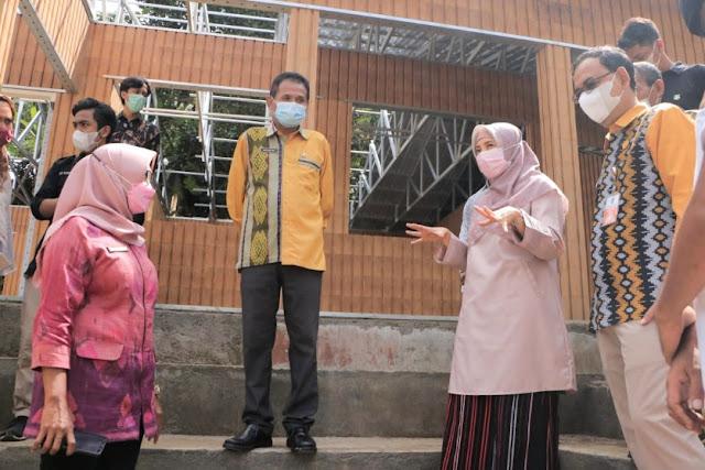 Wow, SDN 04 Medas Lombok Barat jadi sekolah plastik pertama di dunia