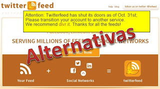 Alternativas a Twitterfeed - Gratuitas