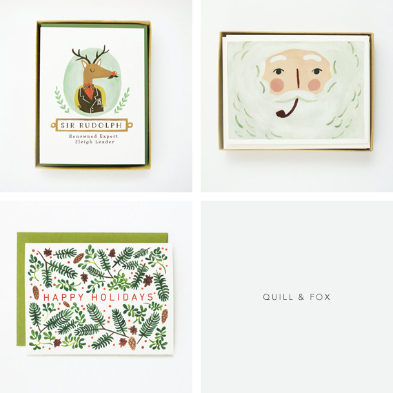 Christmas Cards from Quill & Fox