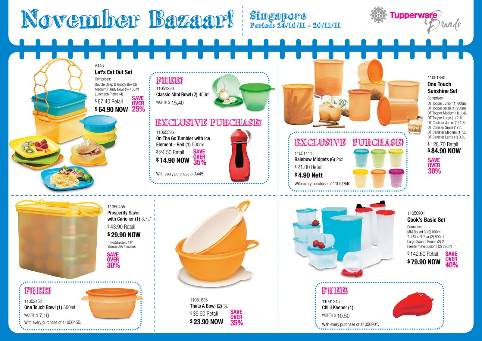 Ministry Of Tupperware Tupperware Monthly Special 24 Oct
