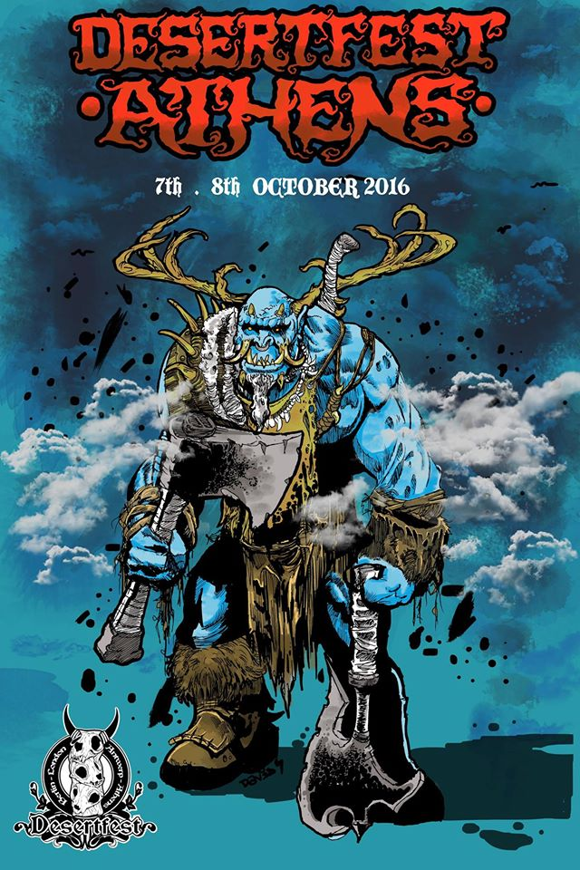 [Live Report] DesertFest Athens 2016