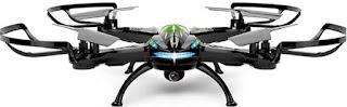 Spesifikasi Drone Predator Sky Phantom Drones X8 - 6 Axis - 2.4G RC