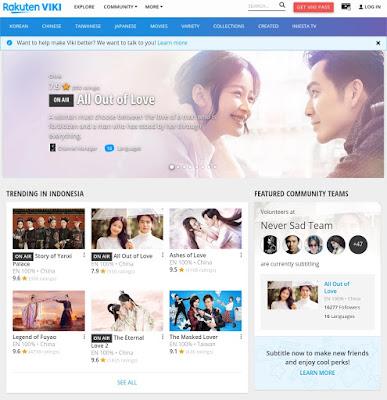 Rekomendasi Situs - situs Drama Korea Terlengkap