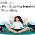 Coronavirus - 5 Tips For Staying Healthy While Traveling #infographic