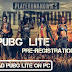 PUBG Lite Pre-Registration Start! Get Exclusive Items Free