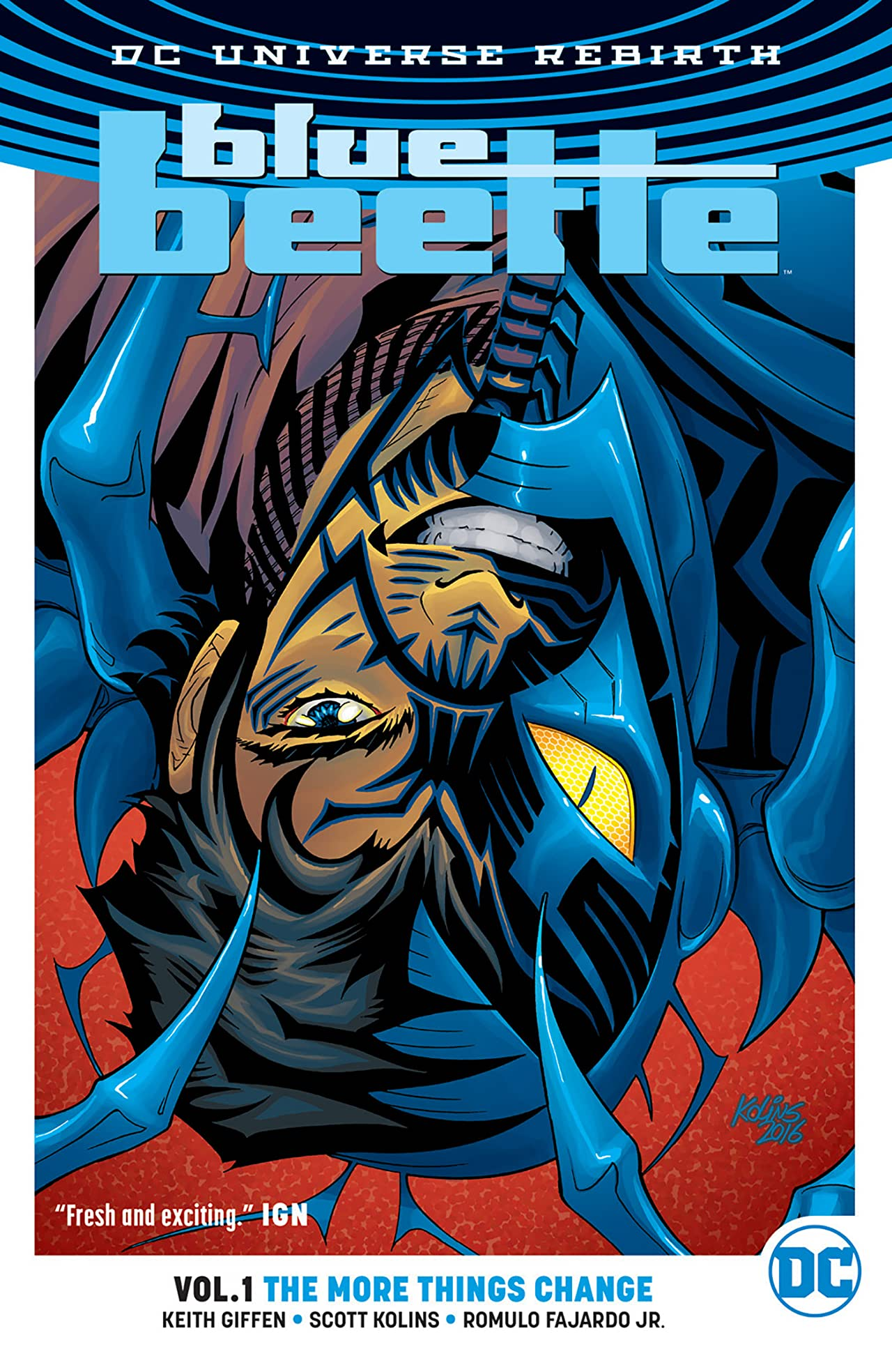 Blue Beetle Vol 1 The More Things Change