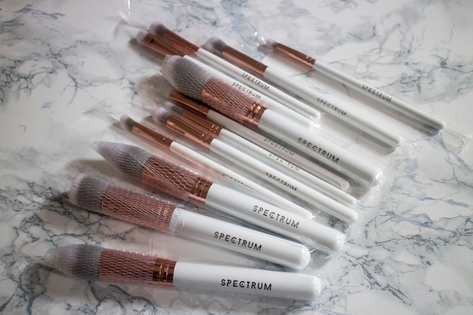 New In Makeup Spectrum Brushes