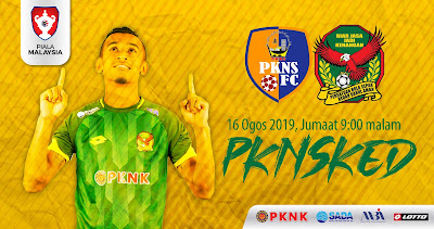 Live Streaming Pkns vs Kedah Piala Malaysia 16.8.2019