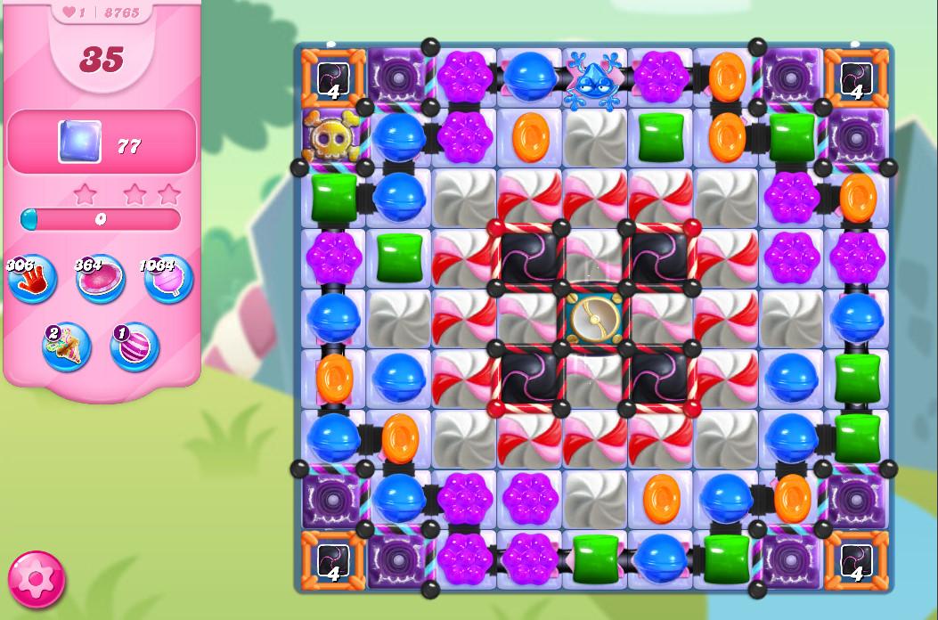 Candy Crush Saga level 8765
