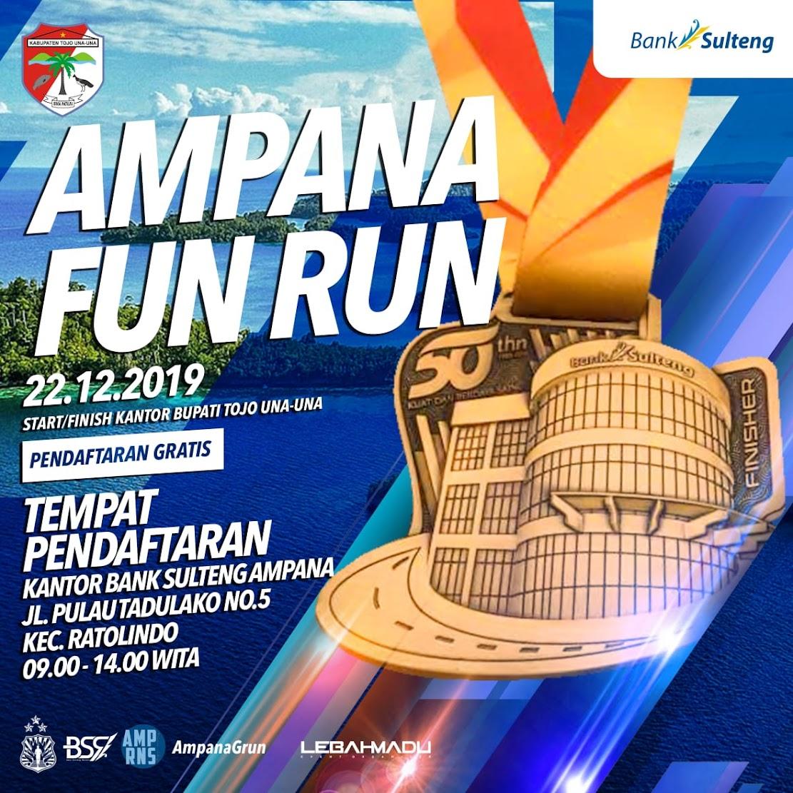 Ampana Fun Run - Tojo Una-Una • 2019