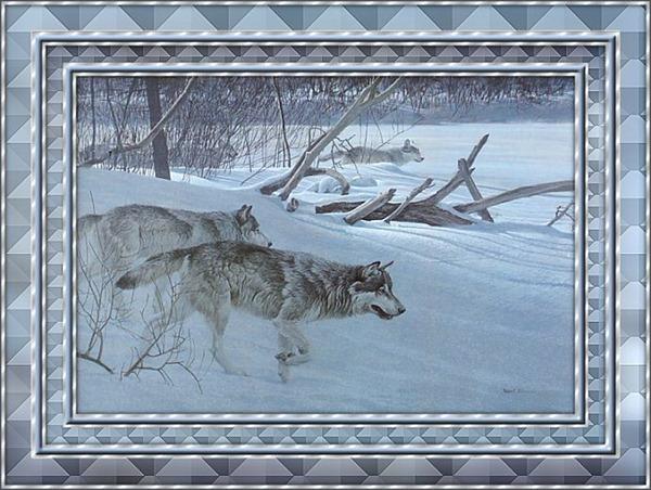 bonitos diseños y creaciones de phohoshop con lobos