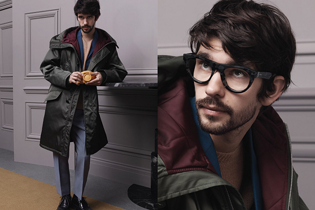 Ben Whishaw Prada fall 2013