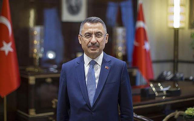 Τούρκος αντιπρόεδρος: Δεν θα κάνουμε καμία υποχώρηση σε Κύπρο, Αν. Μεσόγειο και Αιγαίο