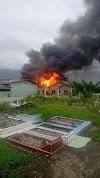 Heboh Kebakaran di Desa Biak Moli, Aceh Tenggara 2021 | PikiranSaja.com