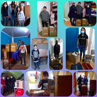 ST2 realiza ayuda social a 10 familias de Sopranil
