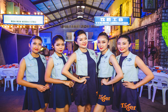 Brand Ambassadors at Tiger STREATS