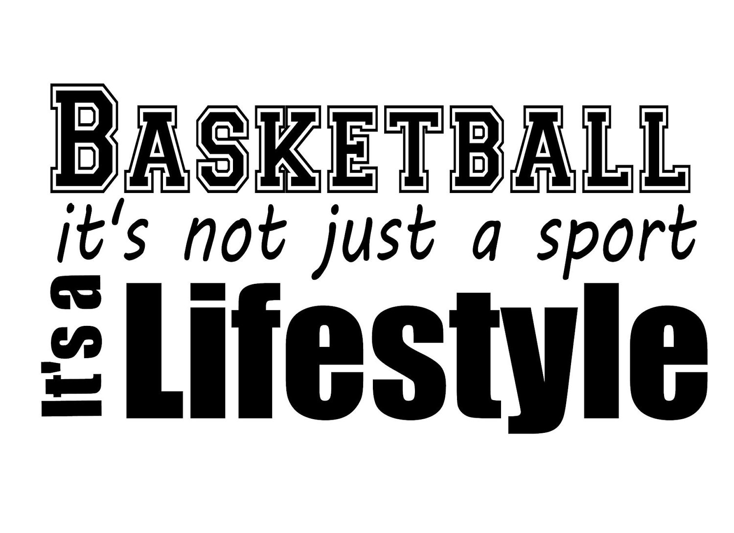 Court Inspiration Basketball Quotes