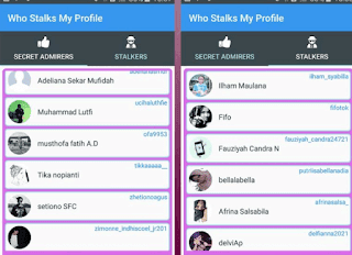 Melihat Orang Yang Stalking ig Melalui Aplikasi