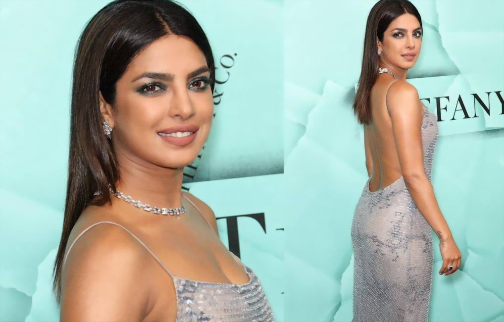 Priyanka Chopra flaunts her body in hot outfit