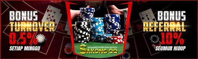 Sakongqq Agen Texas Poker dan Domino Online
