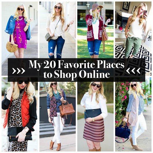 My 20 Favorite Places to Shop Online