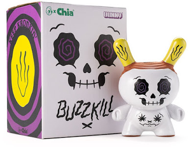 Buzz Kill Chia Pet White Edition Dunny by Kronk x Kidrobot
