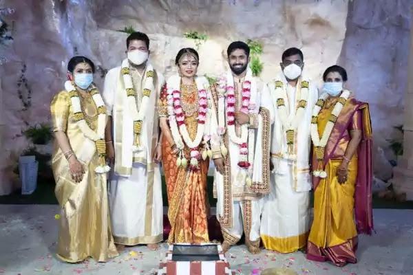 Aishwarya, Rohit Damodaran wedding photo