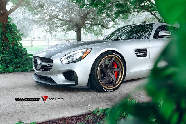 Mercedes-Benz AMG GTS on Velos Designwerks Wheels - #Mercedes #AMG #GTS #Velos #Wheels #tuning