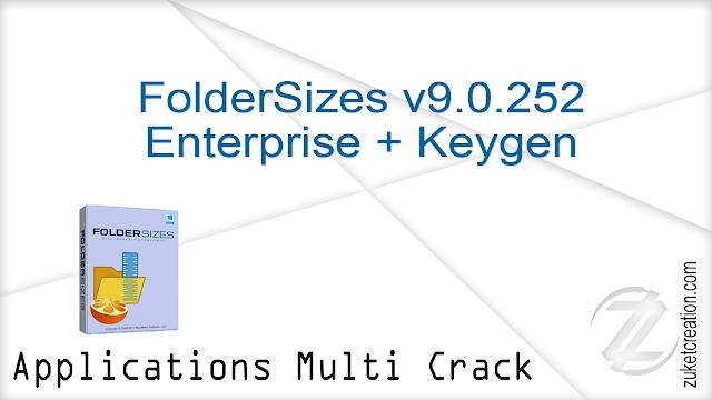 FolderSizes v9.0.252 Enterprise + Keygen