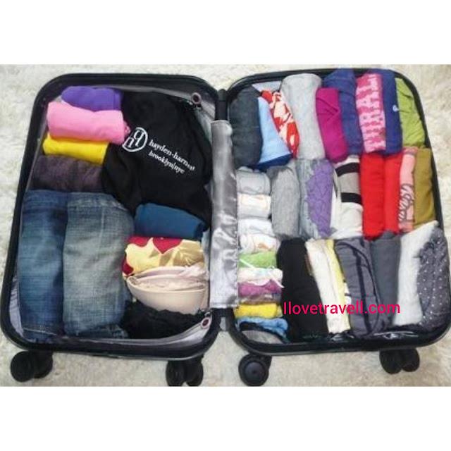 Travel paking tips
