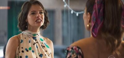 Josiane (Agatha Moreira) terminará a semana evangélica e pedindo perdão a Maria da Paz