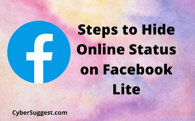 Hide Online Status on Facebook Lite