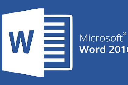 Pengenalan Apa itu Microsof Word Beserta Fungsinya