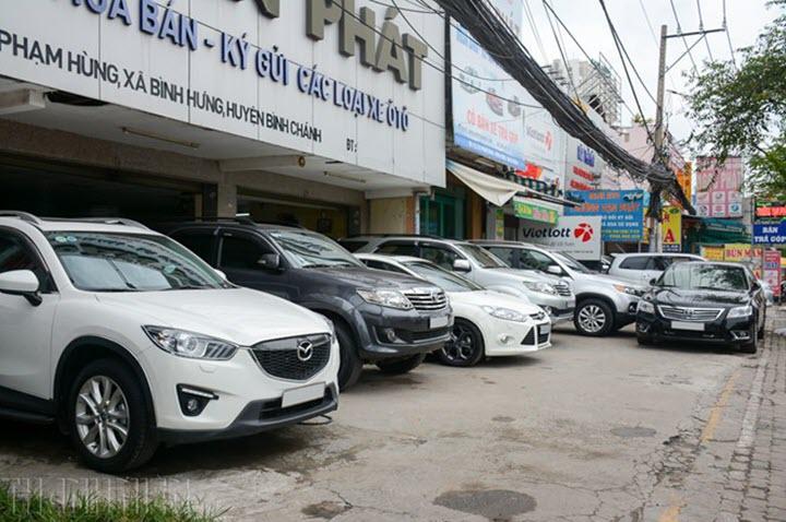 Giảm phí trước bạ tác động lớn đến giá xe cũ tại Việt Nam