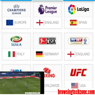 How to watch live football matches on mobile phone and PC without Subscription