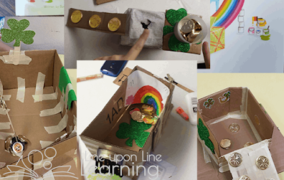 The Night Before St. Patrick's Day by Natasha Wing is a book inspired by 'Twas the Night Before Christmas. Read the book then build a leprechaun trap! Photo credit: Line Upon Line Learning