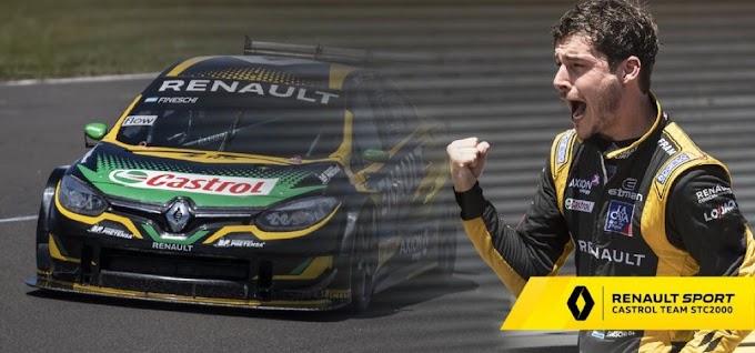 Fineschi se suma al Renault Sport de STC2000