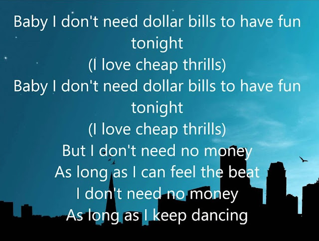Cheap Thrills Lyrics - Sia Cheap Thrills Lyrics || Cheap Thrills Song Lyrics Translation With Meaning