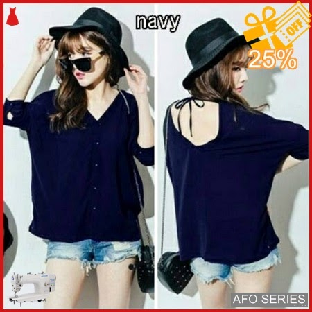 AFO400 Model Fashion Blouse Tali Wenda LD 100 Murah BMGShop
